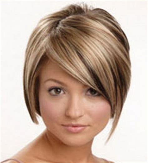 hairstyles for fat faves thick hair short hair styles for fat faces
