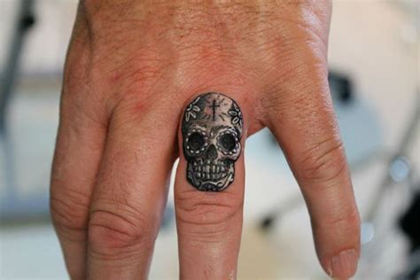 finger tattoo hd amazing wolf finger tattoos design idea