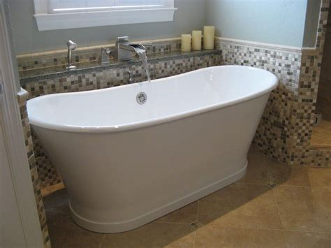 Bathrooms With Freestanding Tubs | small freestanding tub bathroom contemporary with cool