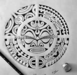 polynesian sun tattoo dessin tatouage symbol rond ou soleil tiki maori