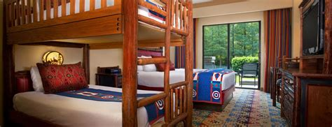 Wilderness Lodge Bunk Beds Disney Wilderness Lodge Amenities