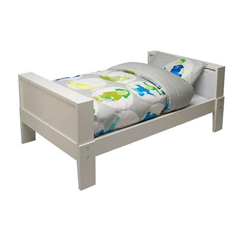 ikea toddler bed ikea vikare extendable childrens bed in white with