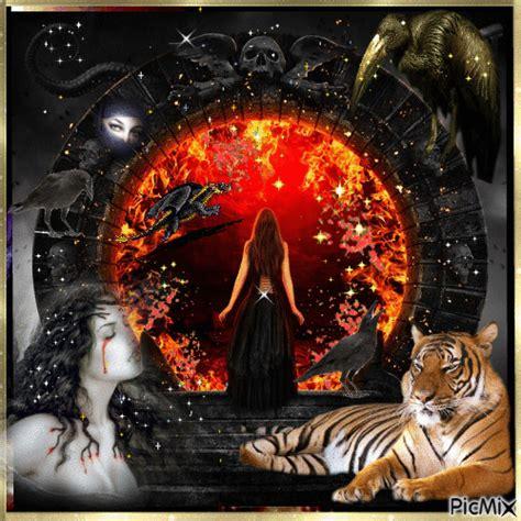le hraut de lenfer les portes de l enfer