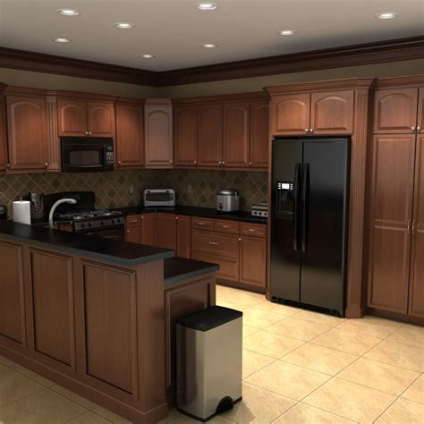 Toaster Offers 3ds Max Kitchen Scene Set