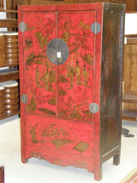 armarios chinos armario boda chino rojo muebles chinos pinterest