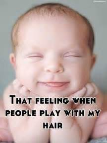 Funny Hair Meme - that feeling when people play with my hair meme collection