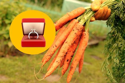 Wedding Ring In Carrot by Wearing Wedding Ring Carrot