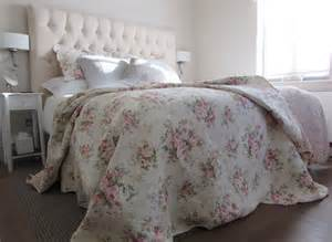 floral quilted bedspread coverlet