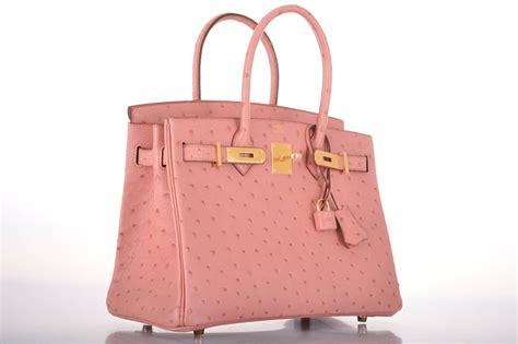 H Rmes Birkin Croco 30 Cm Shocking Pink hermes birkin bag 30cm ostrich terre cuitie pink gold hardware janefinds at 1stdibs