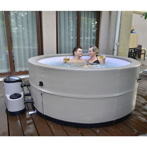 travel trailer bathtub 5 person portable spa patio camper rv travel hot tub w