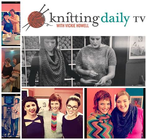 knitting daily tv schedule knitting daily tv with vickie howell is now airing