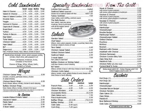 Online Menu Of Shelly S Restaurant Old Orchard Beach Orchard House Of Pizza