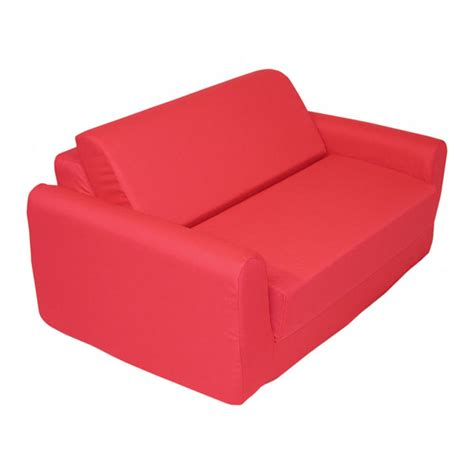 Children S Foam Sofa Bed Red Gotofurniture