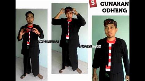 Jual Ace Maxs Jawa Timur tutorial cara pakai baju adat khas madura jawa timur