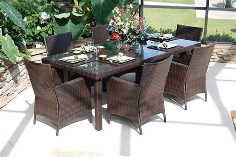 resin wicker patio dining sets wicker patio dining sets patio design ideas