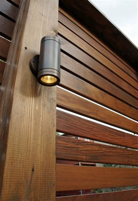 lights on fence ideas best 25 fence lighting ideas on garden post