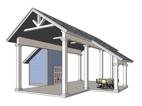 carport plans with storage best 25 rv carports ideas on rv shelter rv