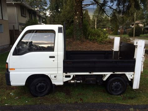 subaru mini pickup 1991 subaru sambar mini pickup with power lift gate and