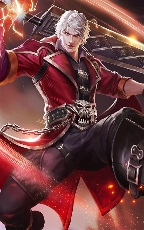 wallpaper mobile legend alucard alucard mobile legends free 4k ultra hd