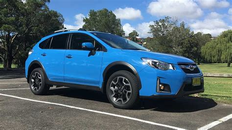 blue subaru subaru xv 2016 review carsguide