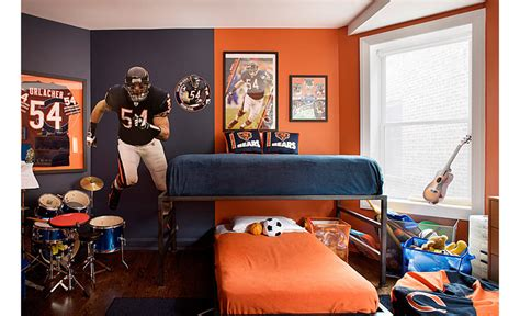 football themed bedrooms 20 boys football room ideas design dazzle