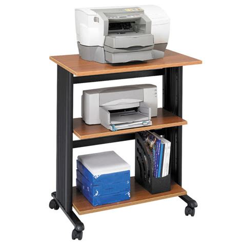 office furniture printer stand office furniture muv adjustable three level printer stand by safco available in different