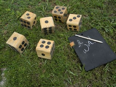 Backyard Dice Outdoor Lawn To Lure You Outside This Summer