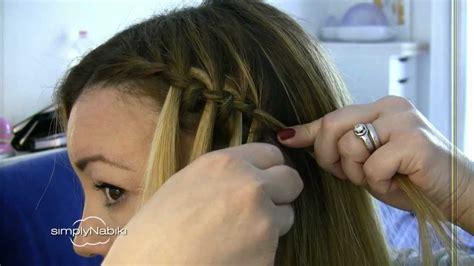 come fare treccine attaccate alla testa capelli treccia a cascata