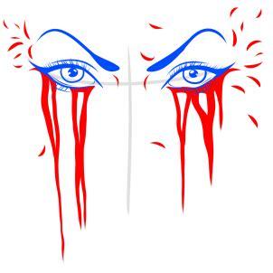 augen weinende augen zeichnen lernen schritt fuer schritt