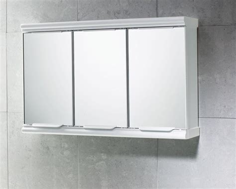 three mirror medicine cabinet chrome cabinet with 3 mirrored doors 8047 13