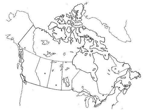 blank physical map of usa and canada blank canada physical map