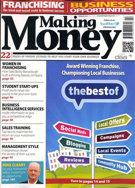 How To Make Money From An Online Magazine - business and finance magazine subscriptions whsmith