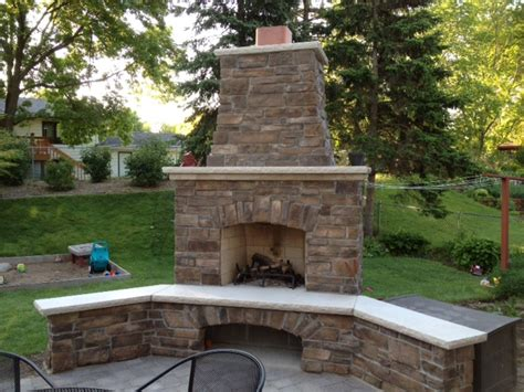 minneapolis outdoor fireplaces city fireplace