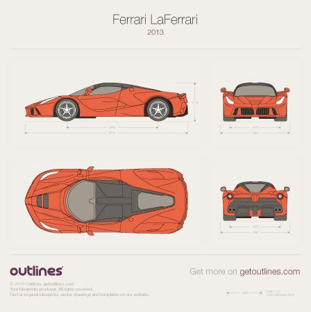 ferrari laferrari sketch 2013 ferrari laferrari drawings outlines