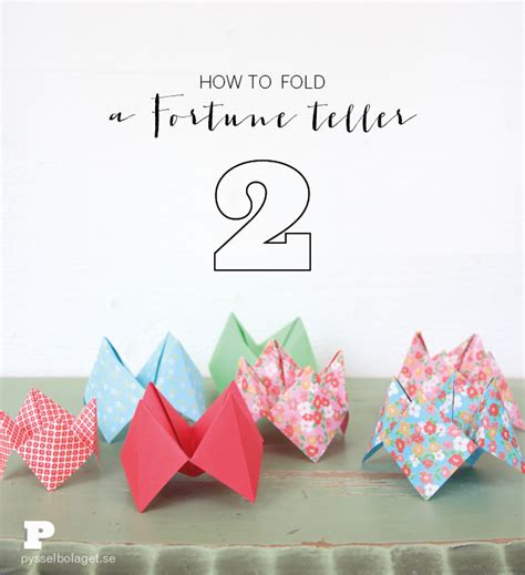 how to fold a fortune teller out of paper 28 images 9