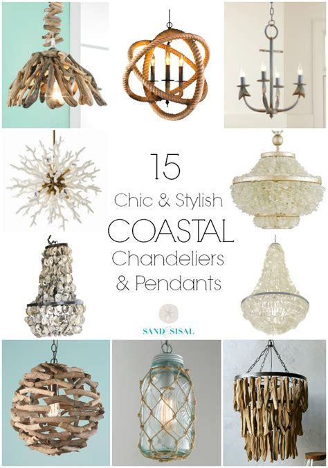 Red White And Blue Kitchen - 15 chic coastal chandeliers and pendants