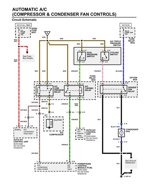 condenser fan wiring diagram repair guides heating ventilation air conditioning 2002 compressor and condenser fan