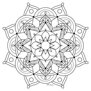 anti stress coloring book national bookstore mandalas coloring pages for adults justcolor page 2