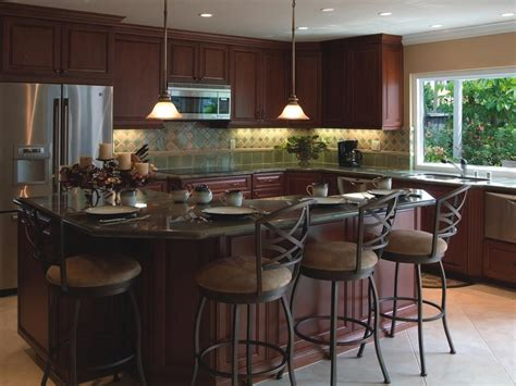 l shaped kitchen islands with seating kitchen islands hgtv