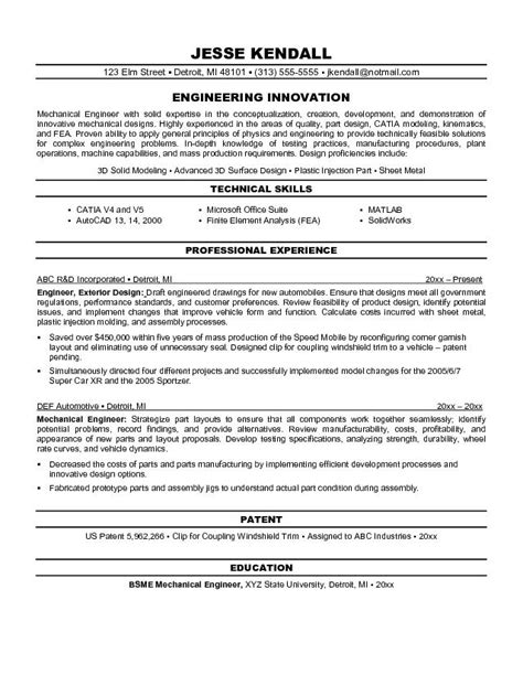 best mechanical engineer resume sales mechanical site