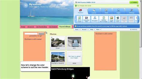 tutorial web builder 9 parallels web presence builder getting started video