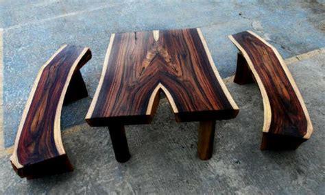 Meja Kayu Sonokeling kayu hitam sonokeling bahan furnitur khas jawa yang