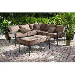 hometrends braddock heights 7 sectional outdoor furniture set walmart