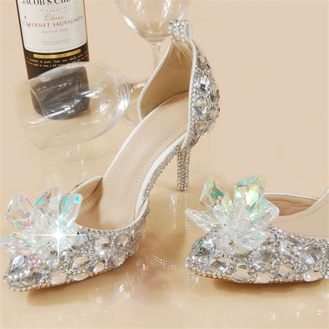 womens glass slippers popular princess glass slippers buy cheap princess glass
