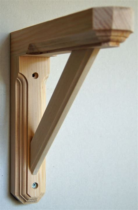 wood shelves and brackets solid wooden shelf brackets interior home design