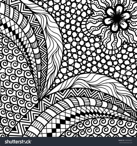zentangle pattern tribe artistically ethnic pattern doodle zentangle tribal stock