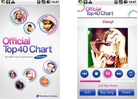 samsung official top 40 chart app dragons and dust mills hosts the official top 40 chart app flavourmag