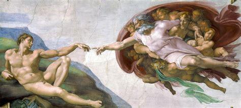Sistine Chapel Ceiling Adam And God by File Creation Of Adam Jpg
