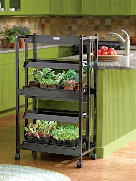 plant grow lights   shelves gardeners supply