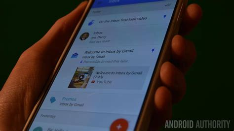 android auth inbox users can now invite three friends to the service
